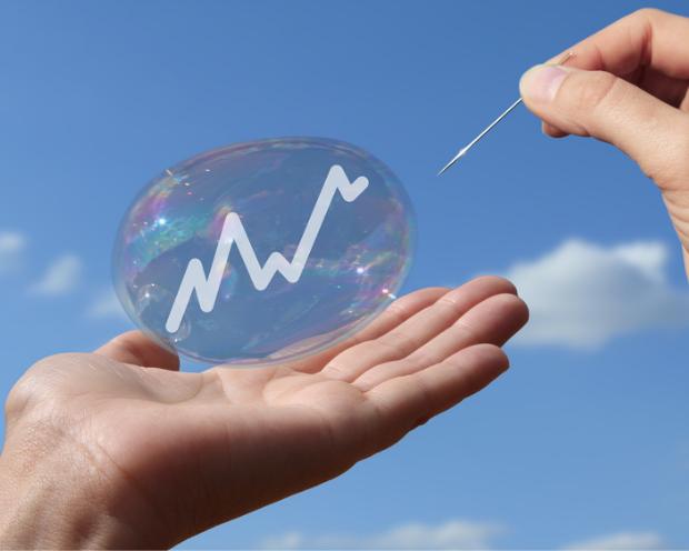 Börsen-Blasen: Wann sie platzen und wie Anleger mit ihnen umgehen sollten