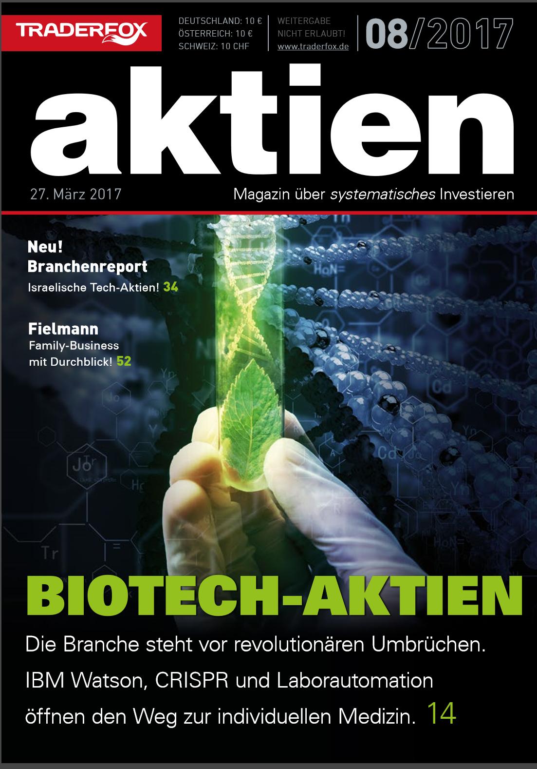 aktien 08 Biotech-Spezial: Bahnbrechende Technologien revolutionieren die Medizin!