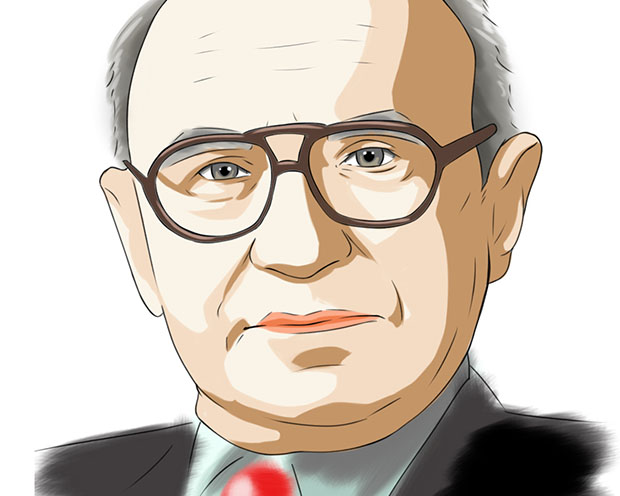 Geld (-menge) regiert die Welt – Milton Friedman