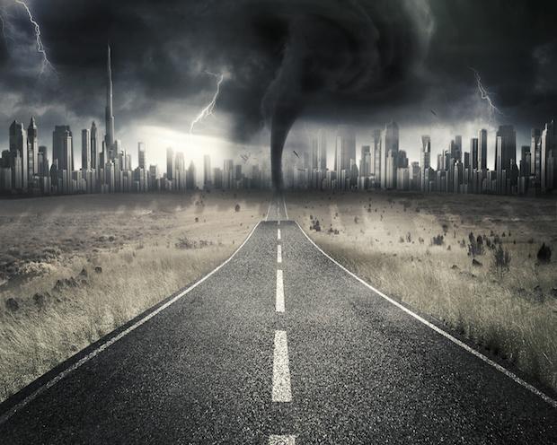 DAX im Big-Picture: Herrscht bereits Weltuntergangs-Stimmung?