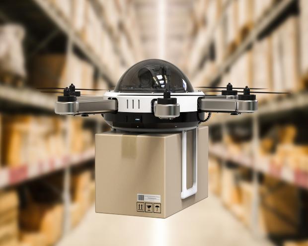 Darvas-Aktie KION: Übernehmen Drohnen bald die Inventur?