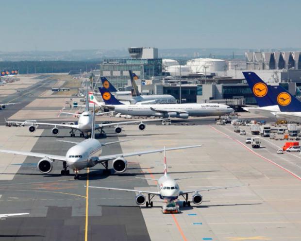 Fraport - Gute Reise wünscht Frankfurt