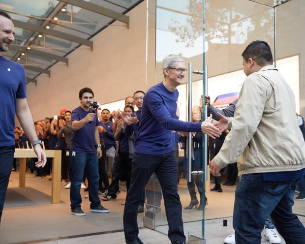 Apple: Als wenn nichts gewesen wäre