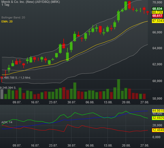 0,14% Merck & Co. Inc. (New) - US-Dollar Indikation -