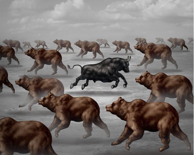 Der längste US-Bullenmarkt ist umgeben von vielen Bärenmärkten – und  weitere spannende Grafiken zum Marktgeschehen