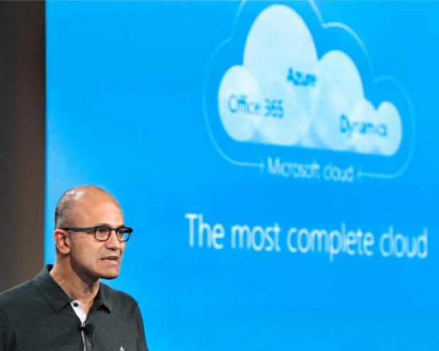 Microsoft - Microsoft holt in der Cloud auf