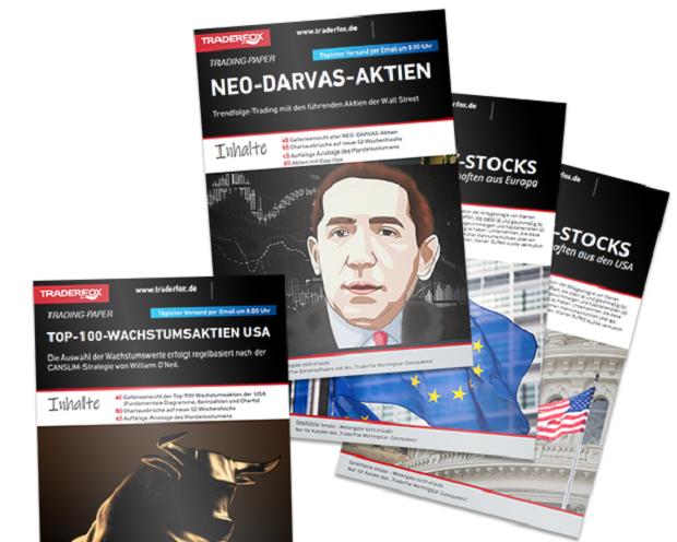 TraderFox startet digitalen Kiosk: Mit diesen täglichen 6 PDF-REPORTS geht es los!