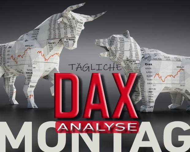 Tägliche DAX-Analyse zum 08.07.2019: Lokale Topbildung löst Distribution aus