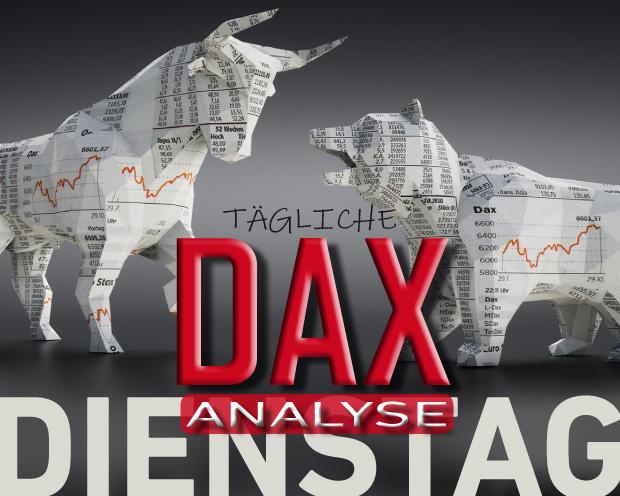 Tägliche DAX-Analyse zum 10.09.2019: Aufwärtsbewegung trotzt überkaufter Marktlage