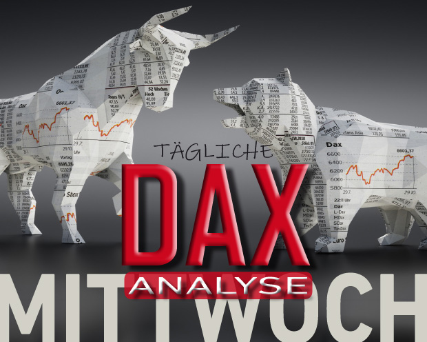 Tägliche DAX-Analyse zum 02.10.2019:  Aufwärtsbewegung jäh gestoppt