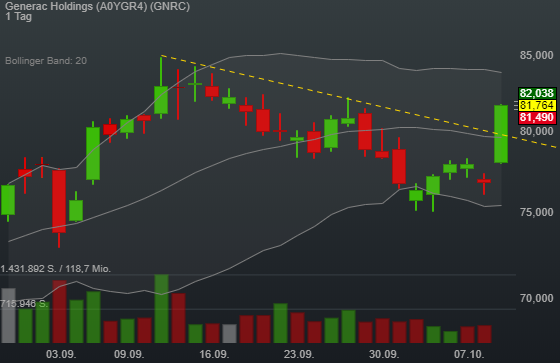 Generac Holdings (6,42%)
