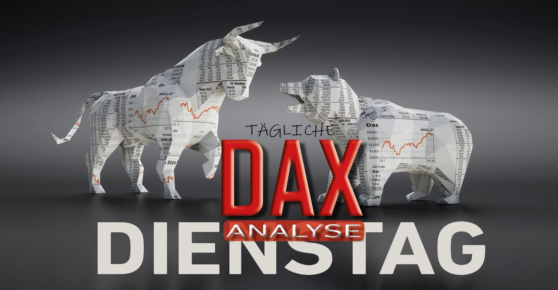 Tägliche DAX-Analyse zum 07.01.2020: Kursstabilisierung am unteren Bollinger Band