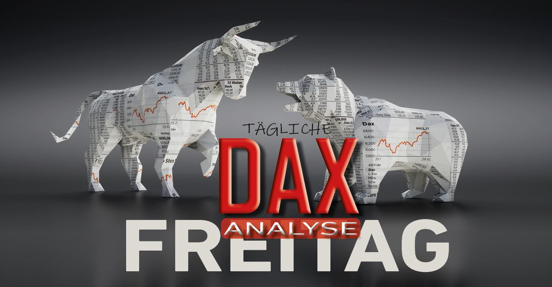 Tägliche DAX-Analyse zum 24.01.2020:  Zwischenkorrektur vor Abschluss