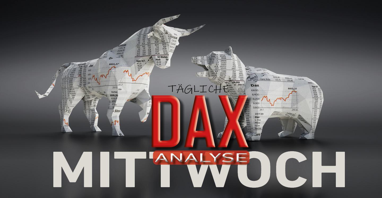 Tägliche DAX-Analyse zum 08.01.2020: Aufwärtswelle trifft auf Distributionszone