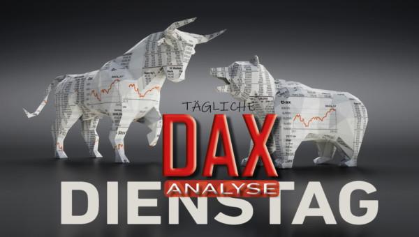 Tägliche DAX-Analyse zum 04.02.2020: Bollinger Band fängt Korrekturbewegung auf