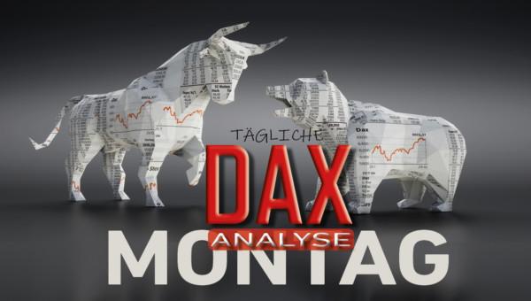 Tägliche DAX-Analyse zum 10.02.2020: Kursstabilisierung nach Pullback
