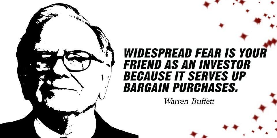 "Wie Warren Buffett es macht: ""When investing, keep it simple."""