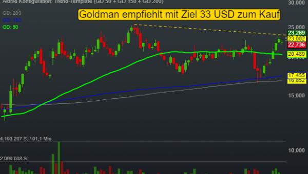 Bei diesem Biotech sieht Goldman Sachs über 40% Kurspotenzial
