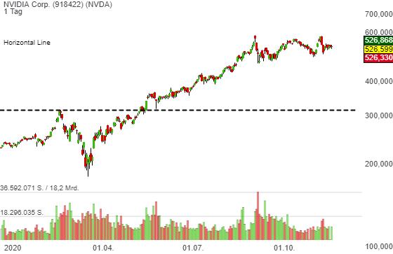 Nvidia (NVDA) erzielt Rekordergebnisse, die Aktie zeigt sich schwächer. Das ist der Grund!