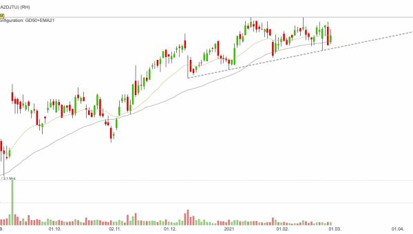 RH - Buffett hat im Q4-2020 gekauft und die Aktie ist relativ stark!