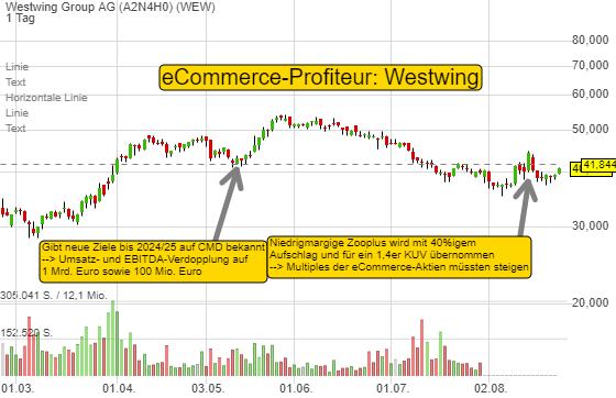 Kommt wieder die Zeit der eCommerce-Aktien? Was Westwing aussichtsreich macht!