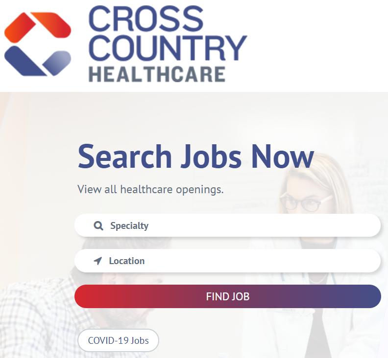 Cross Country Healthcare Job-Boerse